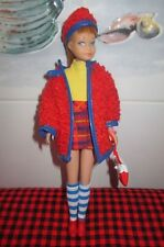 1963 JAPAN S/L TITIAN SKIPPER DOLL#950 &1970 WOOLY WINNER#1746~HOW CUTE IS THIS?