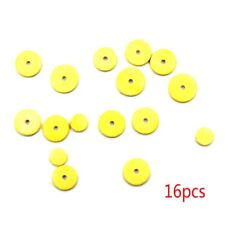 16pcs Fuax Leather Pads Tone for Yamaha Flute Pads Musical Instrument Parts