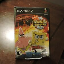 SpongeBob SquarePants Movie Game Sony PlayStation 2 PS2 New Sealed Black Label