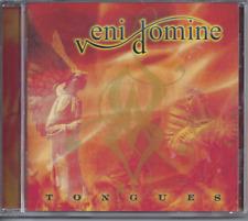 Veni Domine-Tongues CD Swedish Christian Metal (Brand New Factory Sealed)