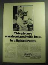 1968 Warren Light Sensitive Products Ad - Developed