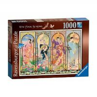 Ravensburger The Four Seasons 1000 Piece Jigsaw Puzzle Brand New and Sealed