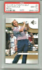 2012 SP Authentic Golf Jack Nicklaus Retail PSA 10