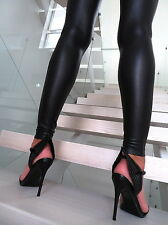 NEU 2017 HOHE Black Pumps Elegant Sandalen Schuhe W14 Wings High Heels Schwarz