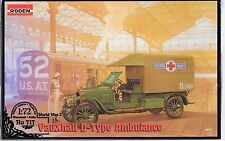Roden Vauxhall D-Type Ambulance in 1/72 717 ST