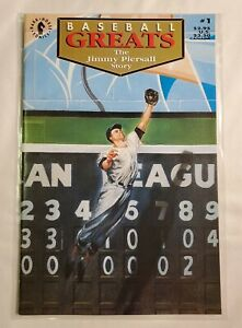 Baseball Greats The JIMMY PIERSALL Story #1 1992 8 color cards bound inclucded