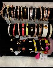 authentic Kate Spade New York bracelet, bangle, cuff, enamel, leather CHOICE ONE