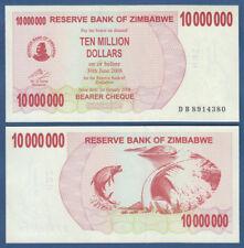 SIMBABWE / ZIMBABWE 10.000.000 Dollars 2008  UNC P.55 b