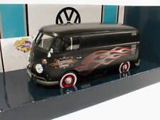"""Moteur Max 79567-Volkswagen VW t1b Camionnette Noir Mat """"CUSTOM"""" 1:24 Neuf"""