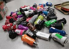 45 assorted usb car chargers (multi & single port)