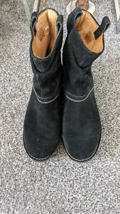 Clarks Suede Ankle Boots Size 5