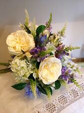 Made To Order Artificial Wedding Flower Vintage Bride Bouquet Country Rustic