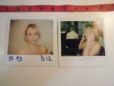 Cameron Diaz photo snap shots 90's on-set MTV AUTDION PHOTOS  B21-mtv