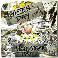 """RSD 2019 Green Day Woodstock 1994 Live 12"""" LP Vinyl Record Store Day Exclusive"""