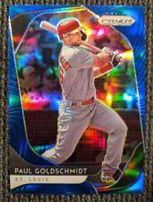 2020 Panini Prizm PAUL GOLDSCHMIDT Blue Prizm Parallel #186 St. Louis Cardinals