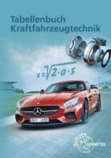 Tabellenbuch Kraftfahrzeugtechnik von Alois Wimmer, Richard Fischer, Bernhard Steidle, Bernd Schlögl und Rolf Gscheidle (2017, Taschenbuch)