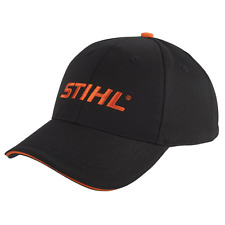 huge selection of 78fb6 7afd2 Stihl Black   Orange Sandwich Bill Hat Cap