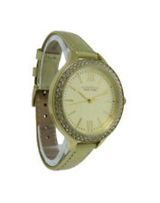 Caravelle New York 44L131 Women's Round Roman Numeral Crystal Analog Watch