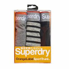 Camicia uomo Superdry Boxer Pacchetto Doppio Nero//Blu Scuro Taglia L