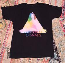 Katy Perry prizmatic world tour Black T-shirt Size M Rock Music concert shirt
