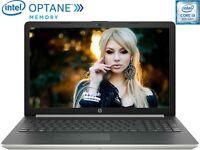 HP 15.6 Laptop 20GB Memory 8th Gen. Intel Core i3-8130U 3.40GHz 1TB DVD+RW Win10