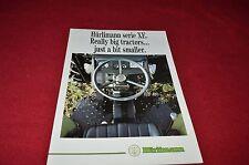 Hurlimann Series XE Tractors Dealers Brochure LCOH