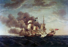 USS Constitution Captures HMS Guerriere War of 1812 8x10 photo