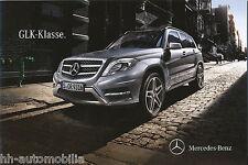 Mercedes Benz GLK Klasse Prospekt 11.11.11 brochure 2011 Auto PKWs Deutschland