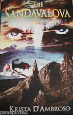 THE SANDAVALOVA~Fiction Book~King Arthur~Fantasy~Merlin~Dragons~Novel~Signed