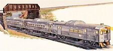 Discontinued 38311 lionel  Conventional  B&O #2276W Budd RDC 3-Car Commuter Set