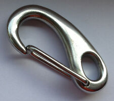 "Stainless steel egg Quick Link Carabiner Snap Hook Clip 2"" SS038"