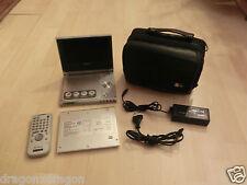 SONY DVP-FX700 portabler DVD-Player mit Akku NP-FX100, FB, Regionalcode 1 / RC1