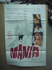 MANIA, orig 1-sh / movie poster [Peter Cushing, Donald Pleasance]