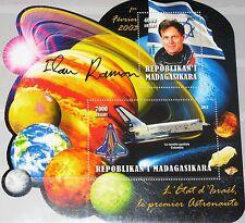 MADAGASKAR MADAGASCAR 2012 unlisted 1  Israeli in Space Ilan Ramon Columbia MNH