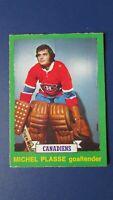 1973-74  O-Pee-Chee  OPC  # 252  MICHEL PLASSE  Rookie  MONTREAL CANADIENS  NMMT