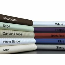 Queen Size 1 Pc Luxury Bed Skirt 1000 Tc Egyptian Cotton Multi Colors