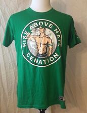 NWOT Men's WWE JOHN CENA Rise Above Hate Size 2XL (FITS LIKE LARGE) Green NWD