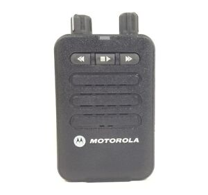 Motorola Minitor VI VHF 143-174 MHz Two-Tone Stored Voice Pager A03JAC8JA1AN