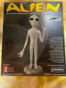Lindberg Alien Extraterrestirial Model Kit Factory Sealed New Old Stock 7-3/4 in