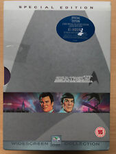 Star Trek 4 - The Voyage Home 1986 Sci-Fi Classic 2-Disc UK DVD with Slipcover