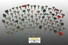 88 Heavy Equipment Keys Set - Construction Ignition Key Set Case Cat Deere More