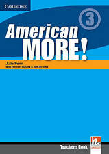 American More! Level 3 Teacher's Book, Lewis-Jones, Peter, Holzmann, Christian,