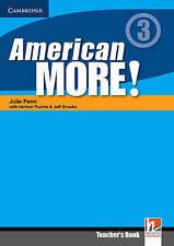 American More! Level 3 Teacher's Book, Lewis-Jones, Peter, Holzmann, Christian,