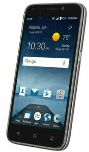"""ZTE Maven 3 z835 AT&T UNLOCKED GSM 4G LTE 8GB 5"""" Android Smartphone Black New"""