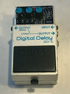 BOSS - DIGITAL DELAY MODEL DD2 FOOT PEDAL - NON-WORKING FOR PARTS OR REPAIR