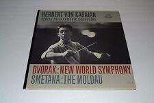 Herbert Von Karajan~Dvorak: New World Symphony~Smetana: The Moldau~FAST SHIPPING
