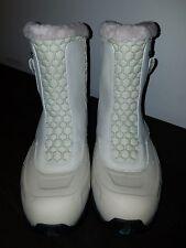 Womens MERRELL WHITE OUT ZIP IVORY waterproof winter boot. sz 10 M
