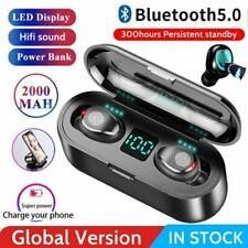 New listing Bluetooth Earbuds Tws Wireless Earphones Waterproof Headphones in Ear Headset Us