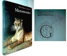 MICROMOSAICS: THE GILBERT COLLECTION Very Scarce Signed by Gilbert HB 2000
