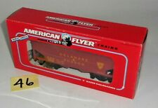 VINTAGE NOS AMERICAN FLYER S Scale DELAWARE & HUDSON 6-48609 COVERED HOPPER 46
